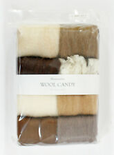 Hamanaka H441-121-3 Wool Candy 8 Color Set Antique Brown Japan .