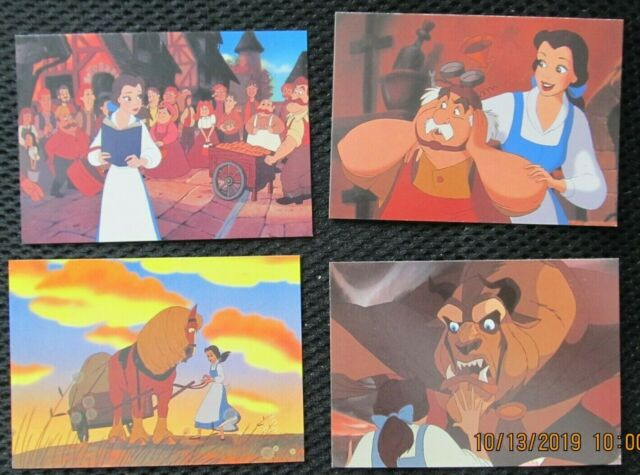 NEW Disney Beauty /& the Beast Collectible Story Card Set Trading ProSet 95 Cards