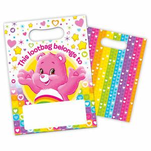 Lot-de-8-Care-Bears-lootbags-Acheter-Plus-obtenez-jusqu-039-a-30