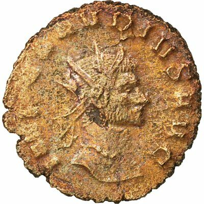 40-45 #68217 Billon 2.70 gothicus Beautiful Antoninianus Ef Claudius Ii