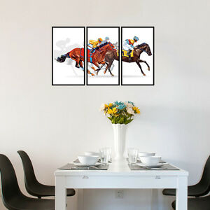 Riding-Horse-Race-Bedroom-Home-Decor-Removable-Wall-Sticker-Decals-Decoration