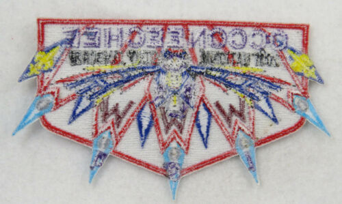 OA Lodge 104 Occoneechee S36 Flap 2001NJ Thunderbird 5 LBL points D1096