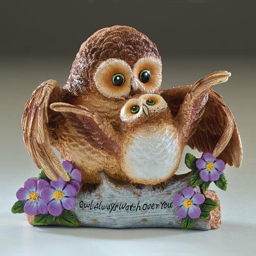Owl Always Watch Over You - Your Such a Hoot  Figurine Bradford Exchange