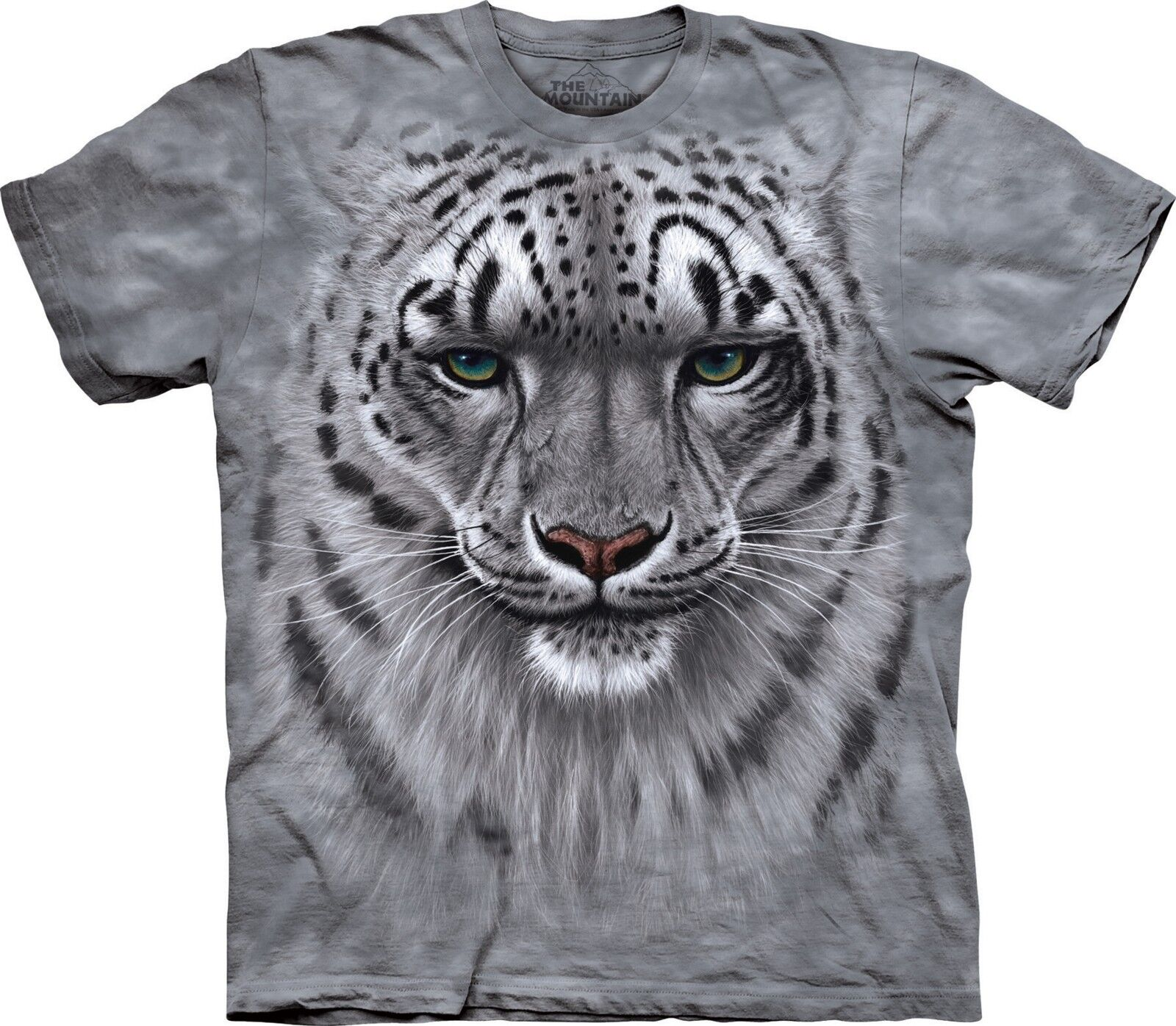 Snow Leopard Portrait T Shirt Adult Unisex The Mountain