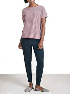 SEASALT-Ladies-CHERRY-Fairwater-Thin-Striped-Organic-Cotton-Top