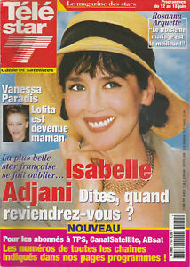 Tv Star N°1184 -07/06/1999- Isabelle Adjani - Vanessa Paradis - Johnny Depp