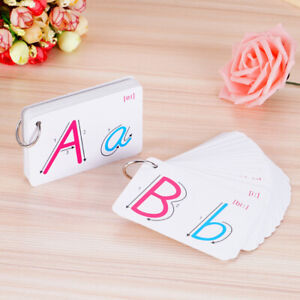 NE-Flash-Cards-For-Kid-Alphabet-Toddler-Early-Learning-Educational-First-Word-A