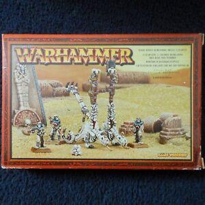 De Catapulte Warhammer Tomb Mib Des 2002 Chucker vivants Squelette Kings Crânes Morts AqUtxBgn