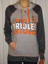 Baltimore Orioles MLB Women's Full Zip Hooded Fleece Sweatshirt Medium