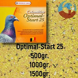 VERSELE LAGA OPTIMAL START 25 PIGEON BIRDS EGG FOOD BREEDING YBS GROWTH PROTEIN
