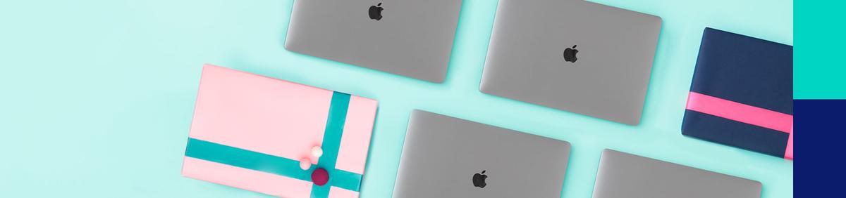Aktion ansehen Design und Leistung unterm Baum Günstige MacBooks inkl. gratis Inlandsversand