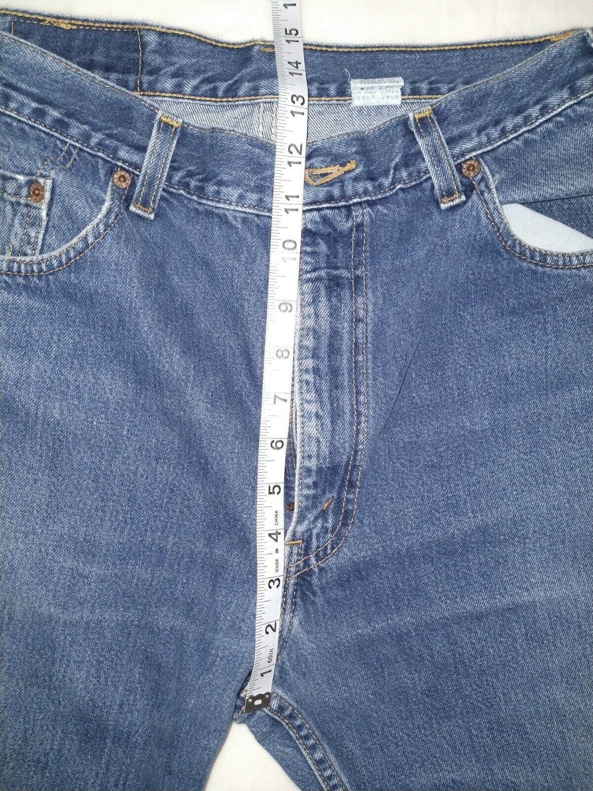Levi's 505 Jean's Made in the USA Men's size 36x3… - image 5