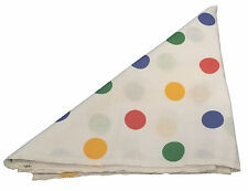 Fancy Dress Pudsey Bear Bandana Multi Coloured Polka Dot Children In Need