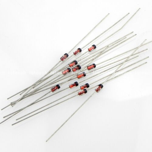 25 pcs ROHM IN5243B 13V 0.5W Zener Diode Prime DO-35 glass case on tape//reel NEW