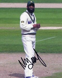 Details about Mohammad Yousuf Signed Pakistan Cricket Photo AFTAL RD175 COA