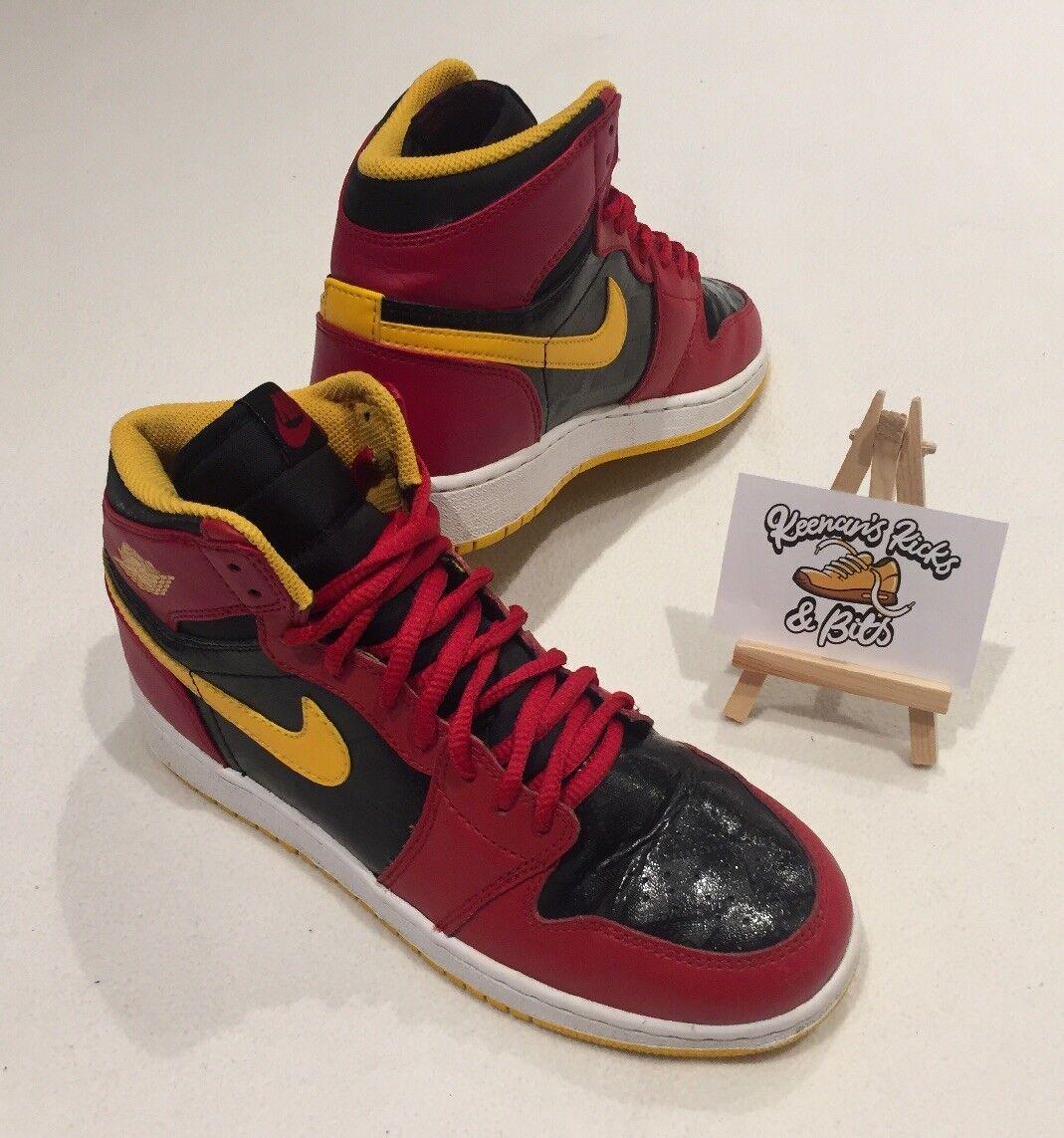 Femme Nike Air Jordan 1 Retro Atlanta Hawks Basketball Baskets UK 4.5