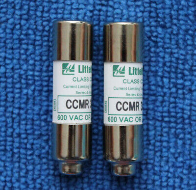20 Amp 600V Time Delay Fuse 10*38 10pcs CCMR-20 20A