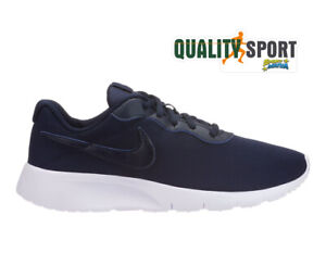 Dettagli su Nike Tanjun Blu Scarpe Shoes Ragazzo Donna Sneakers Palestra 818381 407 2019