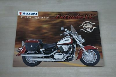 Prospekt 11/1998 An Indispensable Sovereign Remedy For Home 194107 Highway Star Suzuki Vl 1500 Intruder