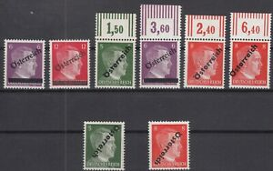 S4176-AUSTRIA-SOVIET-ZONE-MI-660-663-MINT-MNH-INCL-VARIETIES-SIGNED