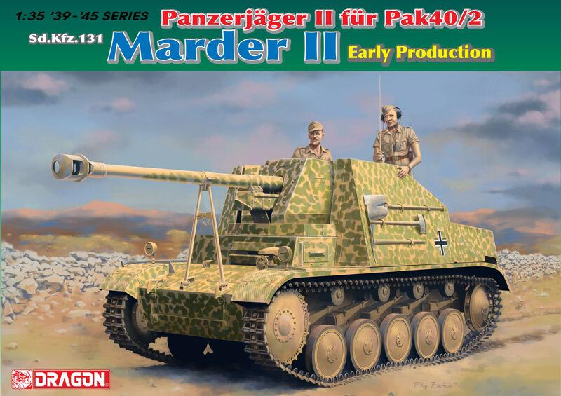 promociones emocionantes Dragon 1  3 5 5 5 6769  Destructor Tanque Marder Ll Sd.Kfz.131 - Producción Temprana  los últimos modelos