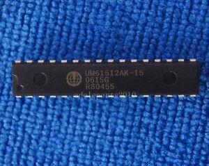 1pcs UM61512AK-15 64K x 8 Bit High Speed CMOS SRAM DIP-32