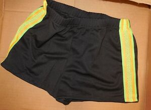 NEW-HIPHOP-COSTUME-DANCE-Shorts-or-Bandeau-Crop-clear-straps