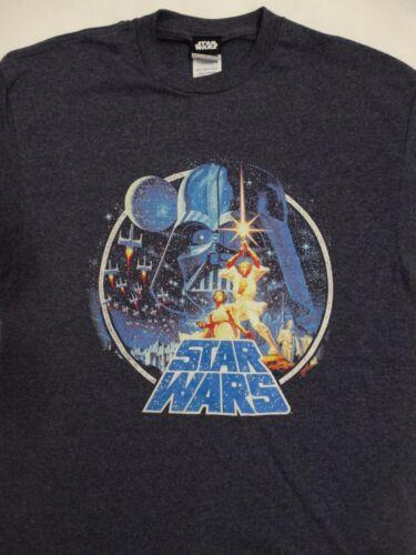 Star Wars Movie Vintage Victory Scene Princess Leia Luke Vader T-Shirt