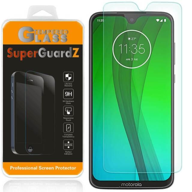 SuperGuardZ Tempered Glass Screen Protector Guard For Motorola Moto G7 Plus