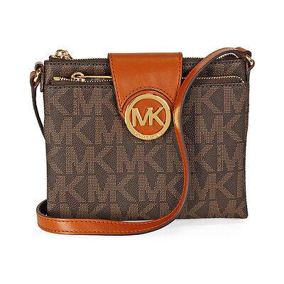 Michael Kors Fulton Large Crossbody Handbag in Brown