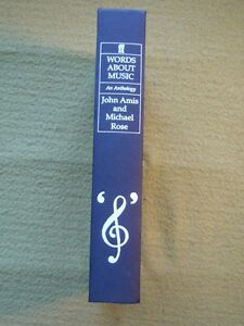 Words About Music  An Autobiography John AmisMichael Rose 1989 Signed 1st HB - London, United Kingdom - Words About Music  An Autobiography John AmisMichael Rose 1989 Signed 1st HB - London, United Kingdom