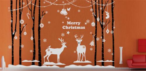 wall stickers UK rui21 Main sculpture décoration de Noël vitrine