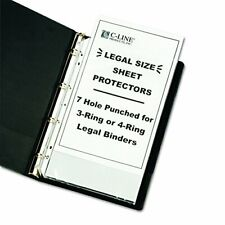 New Listing Top Loading Heavyweight Poly Sheet Protectors Clear Legal Size 14 X 85