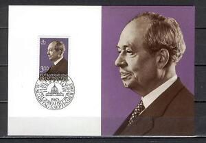 Maxi Card B24 Liechtenstein 1983 Prince Franz Josef II