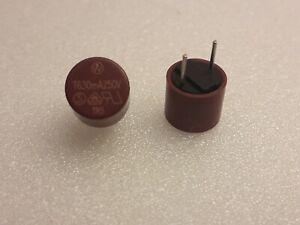 2 x Fusible TR5 T630mA 250V. TEMPORISE.Diametre 8,5mm.