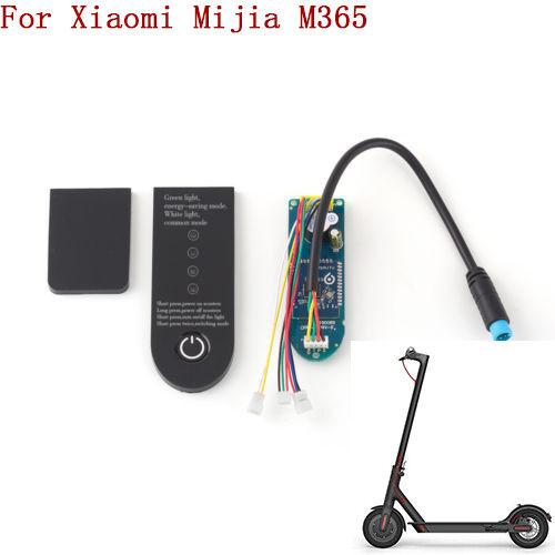 For Xiaomi Mijia M365 Electric Scooter Original Circuit Board Dashboard Cover RU