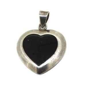aelterer-Herz-Anhaenger-925er-Silber-schwarzer-Onyx
