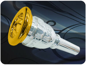 Mouthpiece-Trombone-euphonium-Large-Shank-Jc-Custom-Ultra-12c