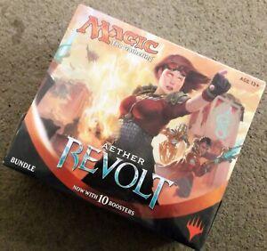 MtG Magic the Gathering English Aether Revolt Bundle Fat Pack SEALED!!