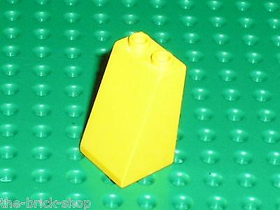 Lego 5 briques tech jaunes set 8439 8134 8431 5 yellow technic bricks 1 x 8