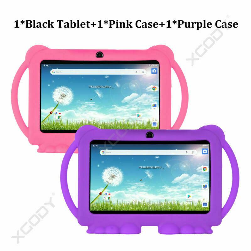 Tablet+PinkCase+PurpleCase