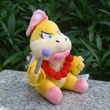 "Nintendo Super Mario Bros Koopalings Plush Toy Wendy O. Koopa 6.5"" Bowser Girl"