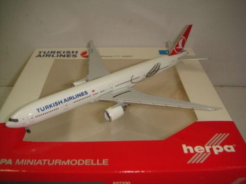 Herpa Wings 500 Turkish Airlines Tk B777-300ER  2008s Color-en Mármara  1 500 NG