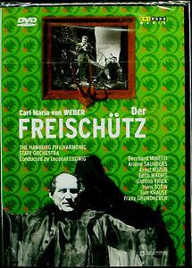 DVD-Carl-Maria-Von-Weber-Der-Freischutz-Minetti-Ludwig-Original-Package