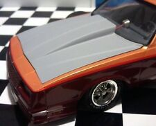 Resin Cowl Hood for '86, 87 Monte Carlo Revell, Monogram 1/24, also 87 Aeroback