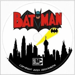 Batman and Robin Radio Shows 51 Episodes OTR Old Time Radio