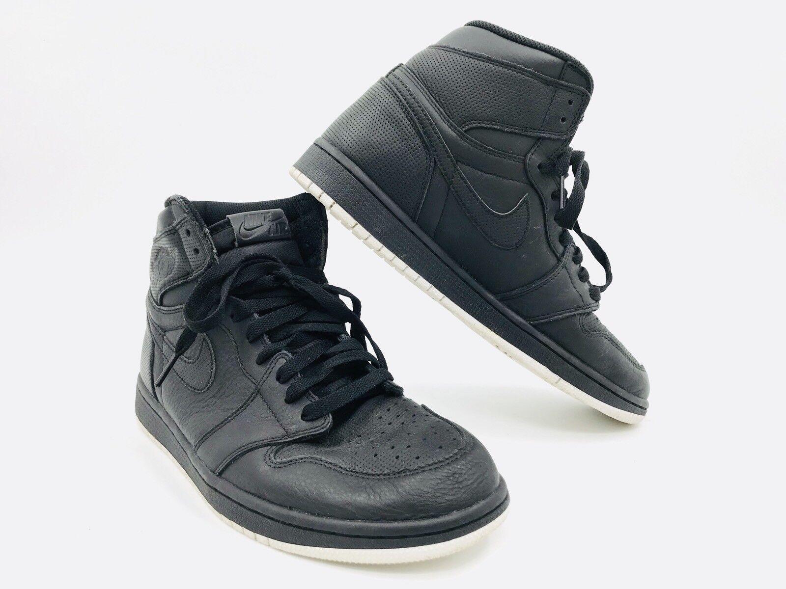 Nike Air Jordan 1 High 9,5 Og Negro hombre tamaño 9,5 High 3e2527