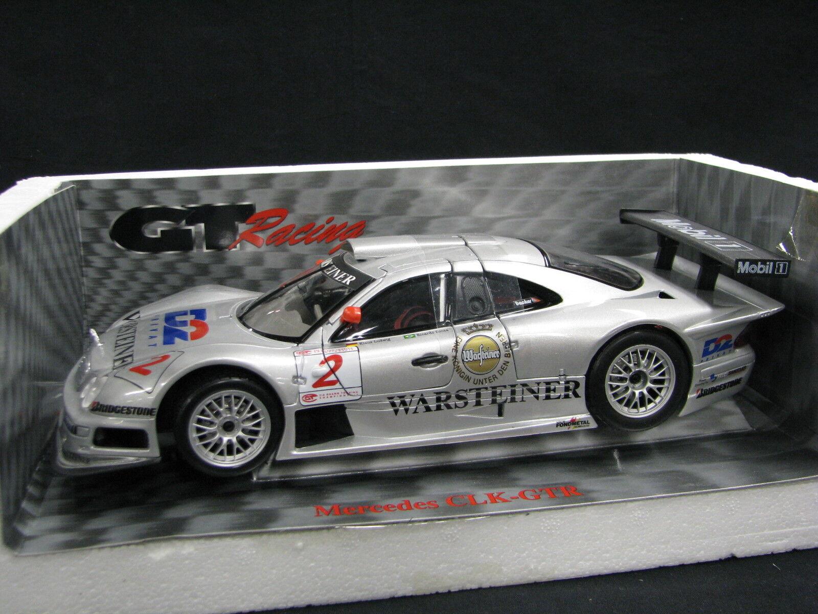 Maisto D2 Mercedes-Benz CLK-GTR 1998 1 18  2 Ludwig   Zonta FIA GT (JS)
