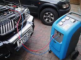 CAR AIR CONDITIONING RE-GAS, RECHARGE, SERVICE