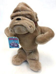Vintage 19 Rushton Atlanta Tan Champ Stuffed Animal Bulldog Pup
